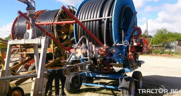Напоителни системи Внос IRRIFRANCE 110/450m 3 - Трактор БГ